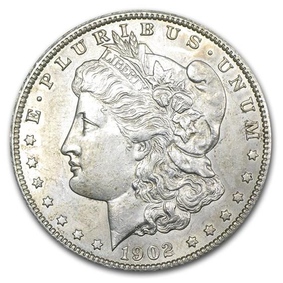 1902-S Morgan Dollar AU-58