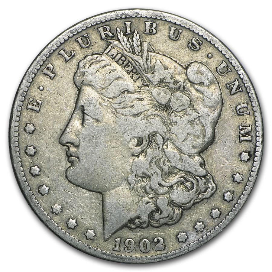 1902-S Morgan Dollar Fine