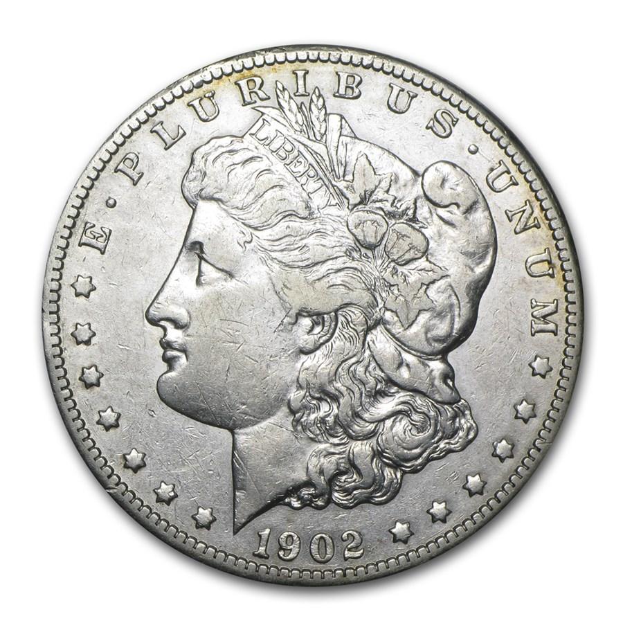 1902-S Morgan Dollar VF