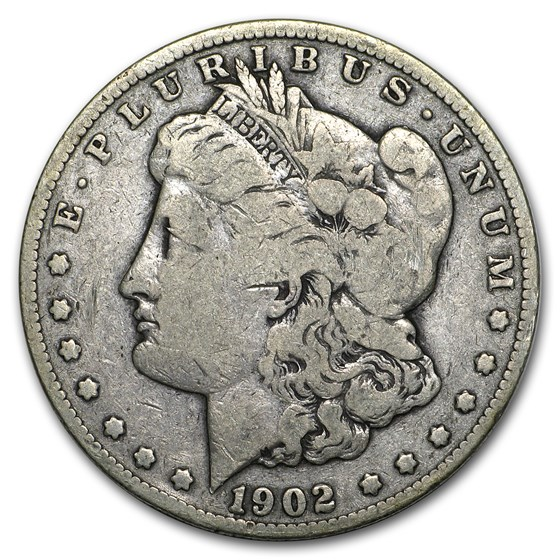 1902-S Morgan Dollar VG