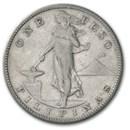 1903-1912 Philippines Silver 1 Peso Avg Circ
