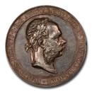 1903 Austria AR Medal Franz J. Angel Crown Austria SP-62 PCGS