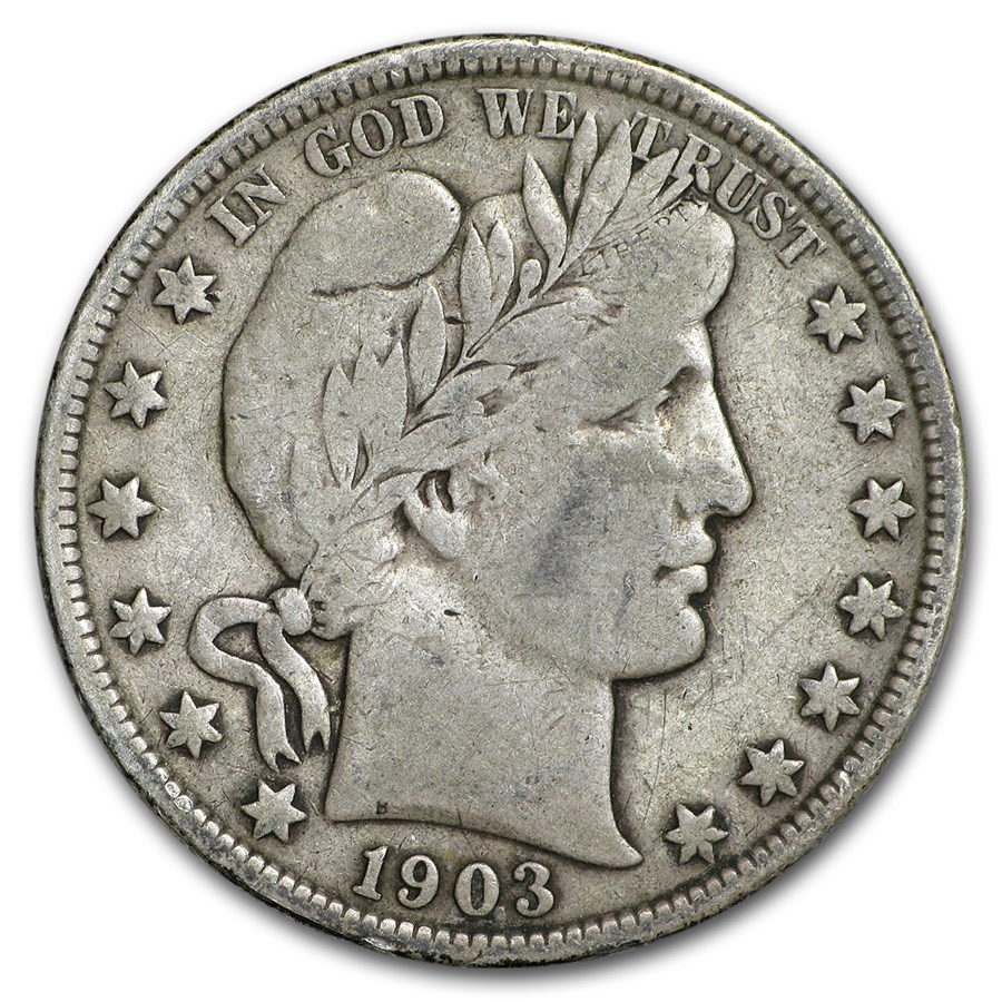 1903 Barber Half Dollar Fine