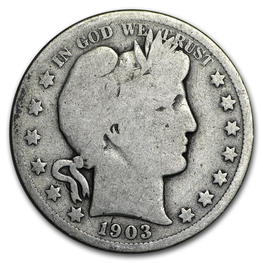 1903 Barber Half Dollar Good