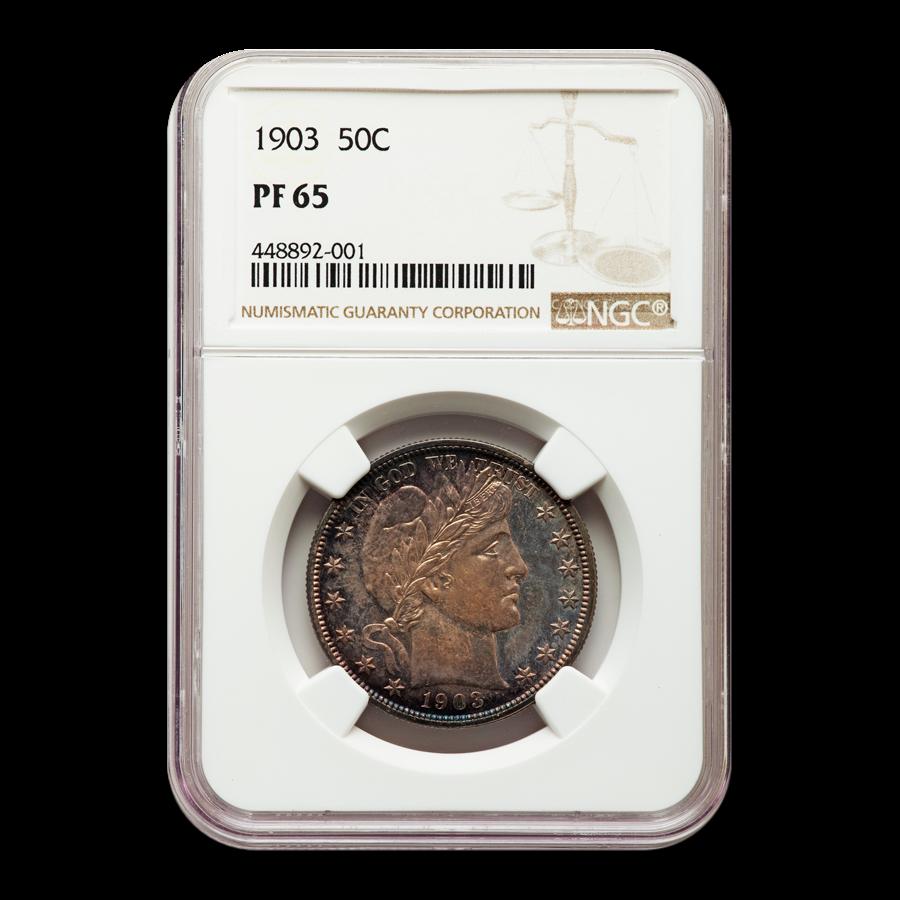 1903 Barber Half Dollar PF-65 NGC