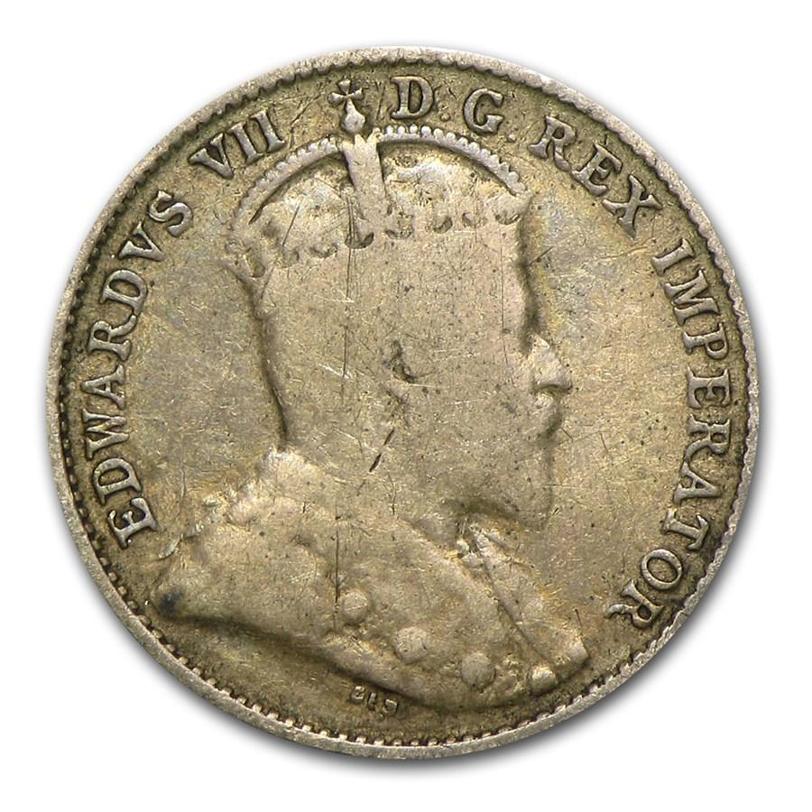 1903 Canada Silver 5 Cents - Fine