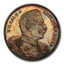 1903 German States Prussia Wilhelm II Medal SP-64 PCGS