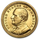 1903 Gold $1.00 Louisiana Purchase McKinley AU