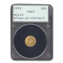1903 Gold $1.00 Louisiana Purchase McKinley MS-63 PCGS