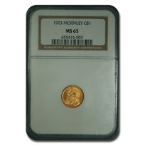 1903 Gold $1.00 Louisiana Purchase McKinley MS-65 NGC