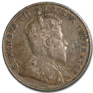 1903-H Canada 10 Cents VF