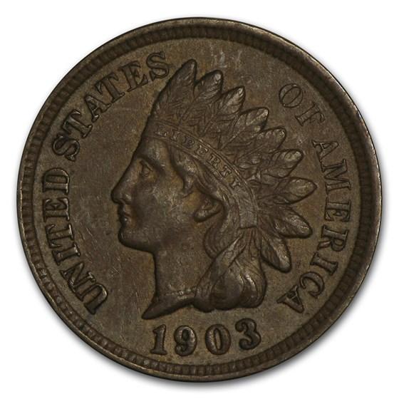 1903 Indian Head Cent AU