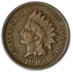 1903 Indian Head Cent VF