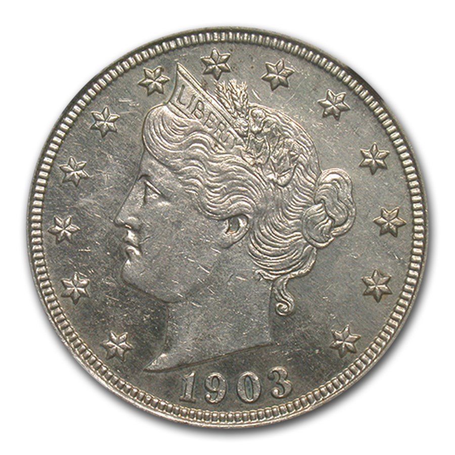 1903 Liberty Head V Nickel PF-61 NGC