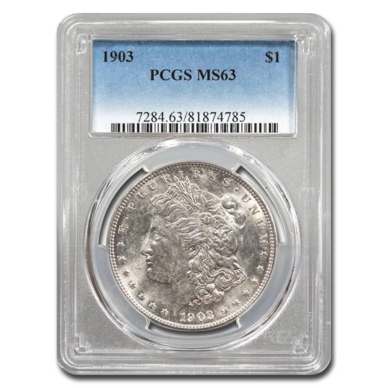 1903 Morgan Dollar MS-63 PCGS