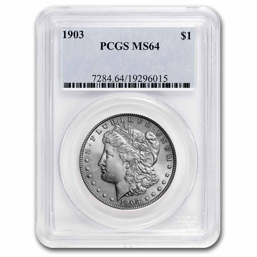 1903 Morgan Dollar MS-64 PCGS