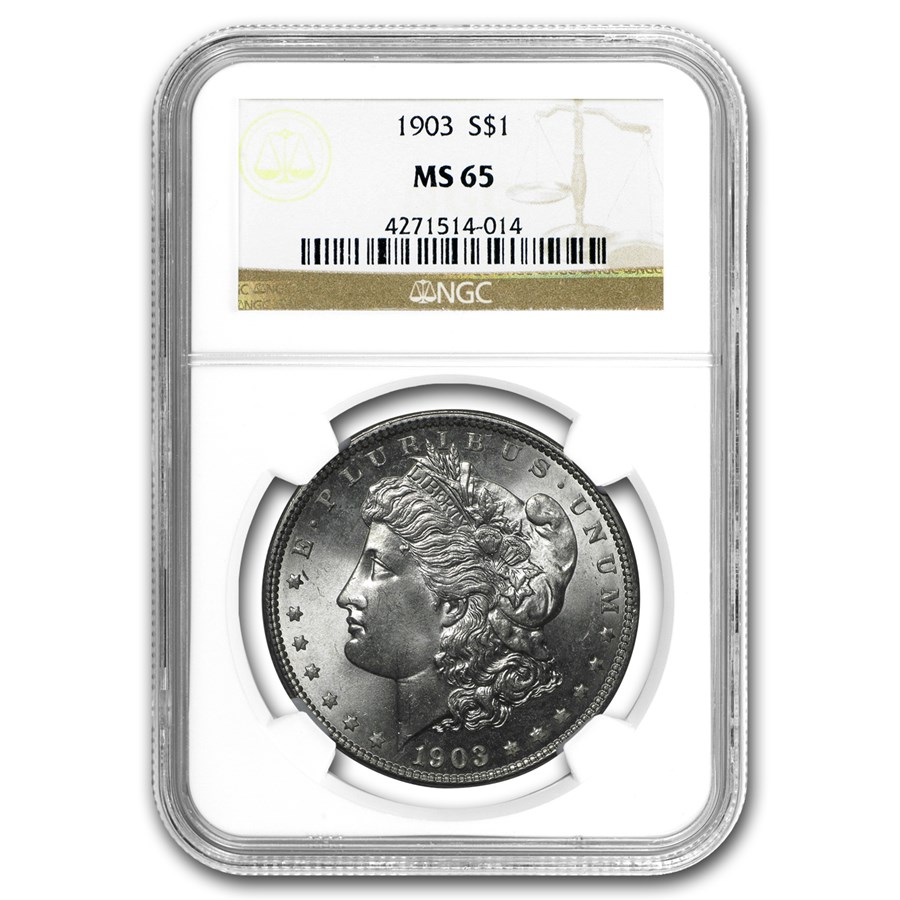 1903 Morgan Dollar MS-65 NGC