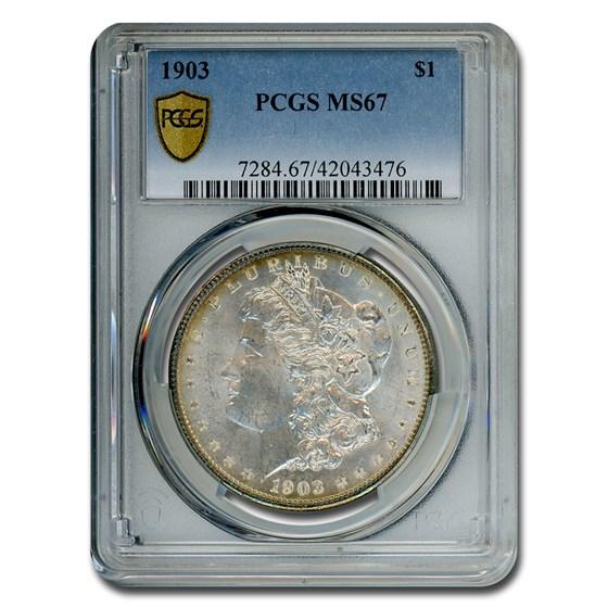1903 Morgan Dollar MS-67 PCGS