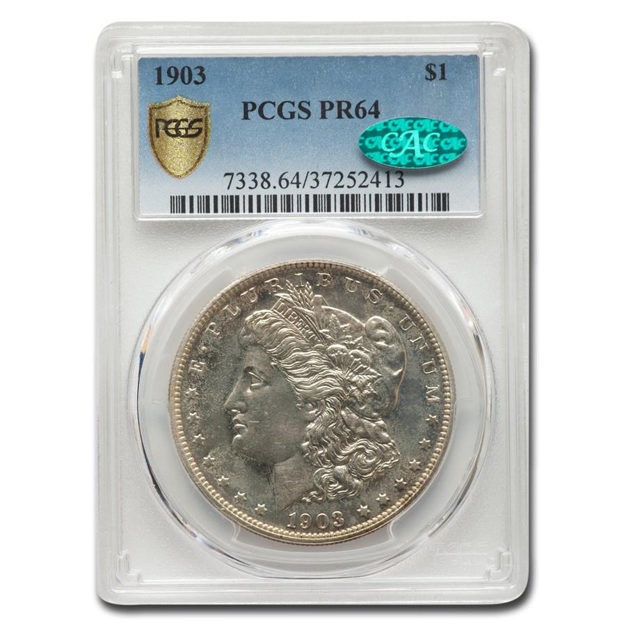 1903 Morgan Dollar PR-64 PCGS CAC