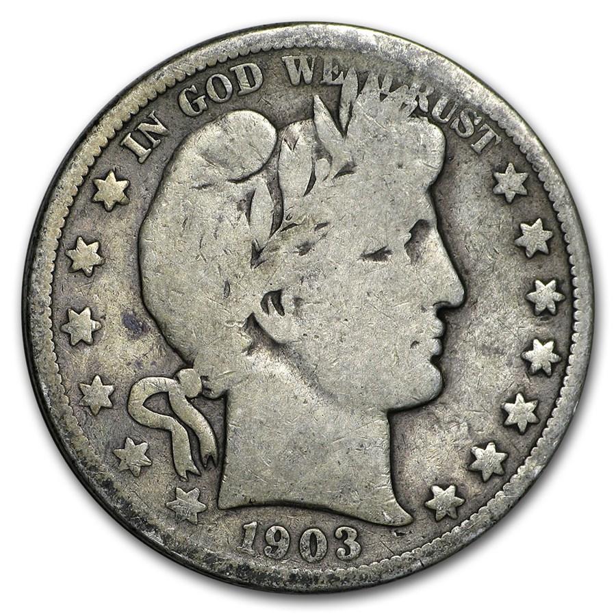 1903-O Barber Half Dollar Good