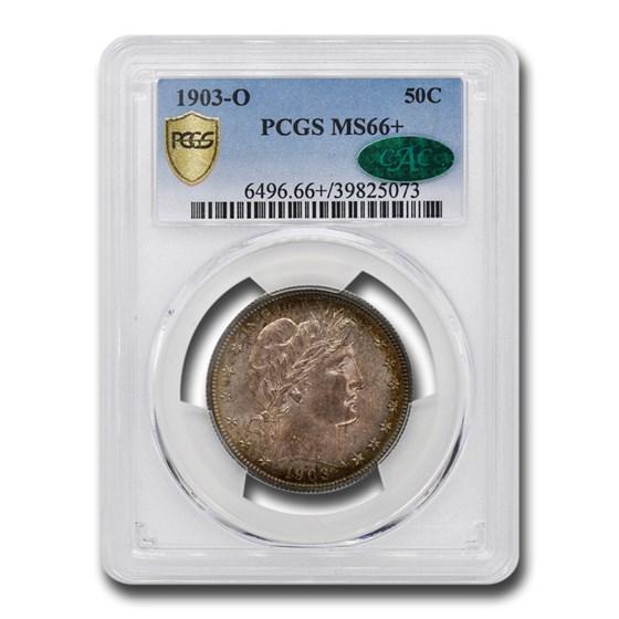 1903-O Barber Half Dollar MS-66+ PCGS CAC