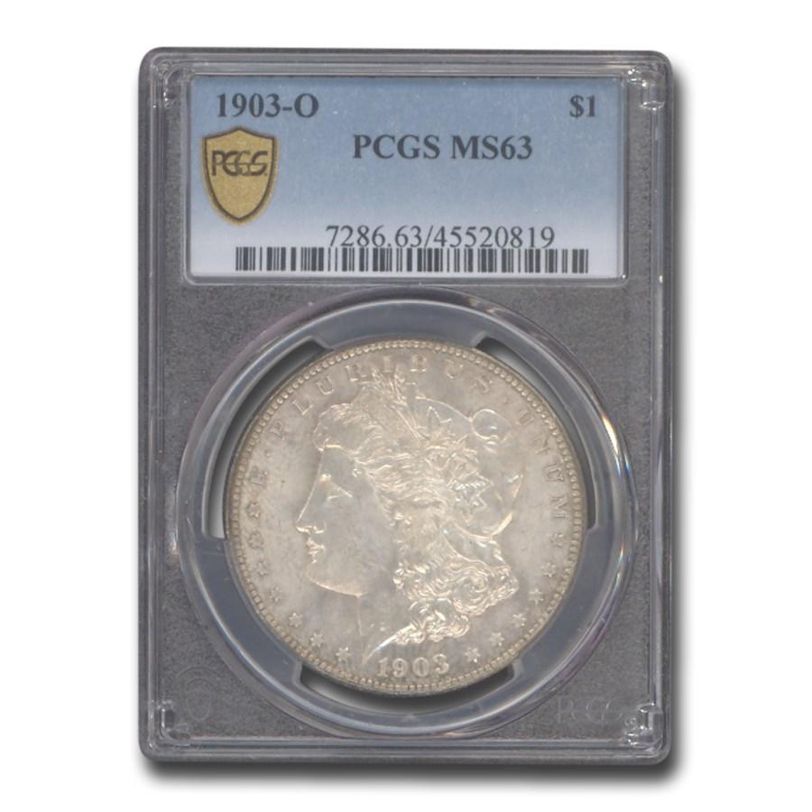 1903-O Morgan Dollar MS-63 PCGS