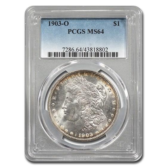 1903-O Morgan Dollar MS-64 PCGS (Toned)