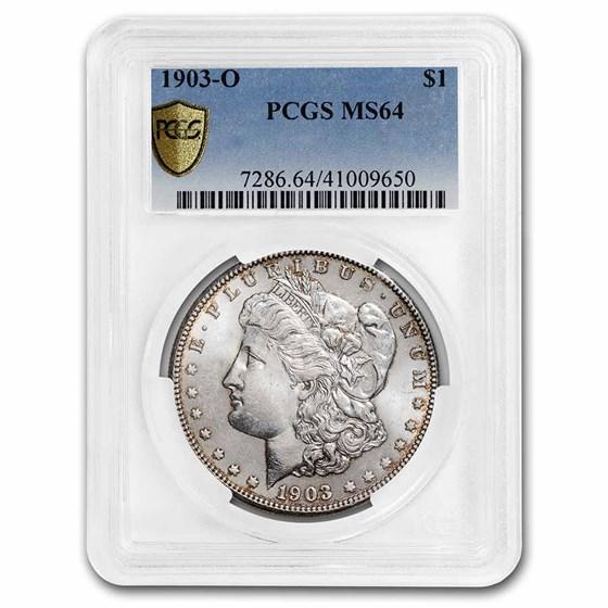 1903-O Morgan Dollar MS-64 PCGS
