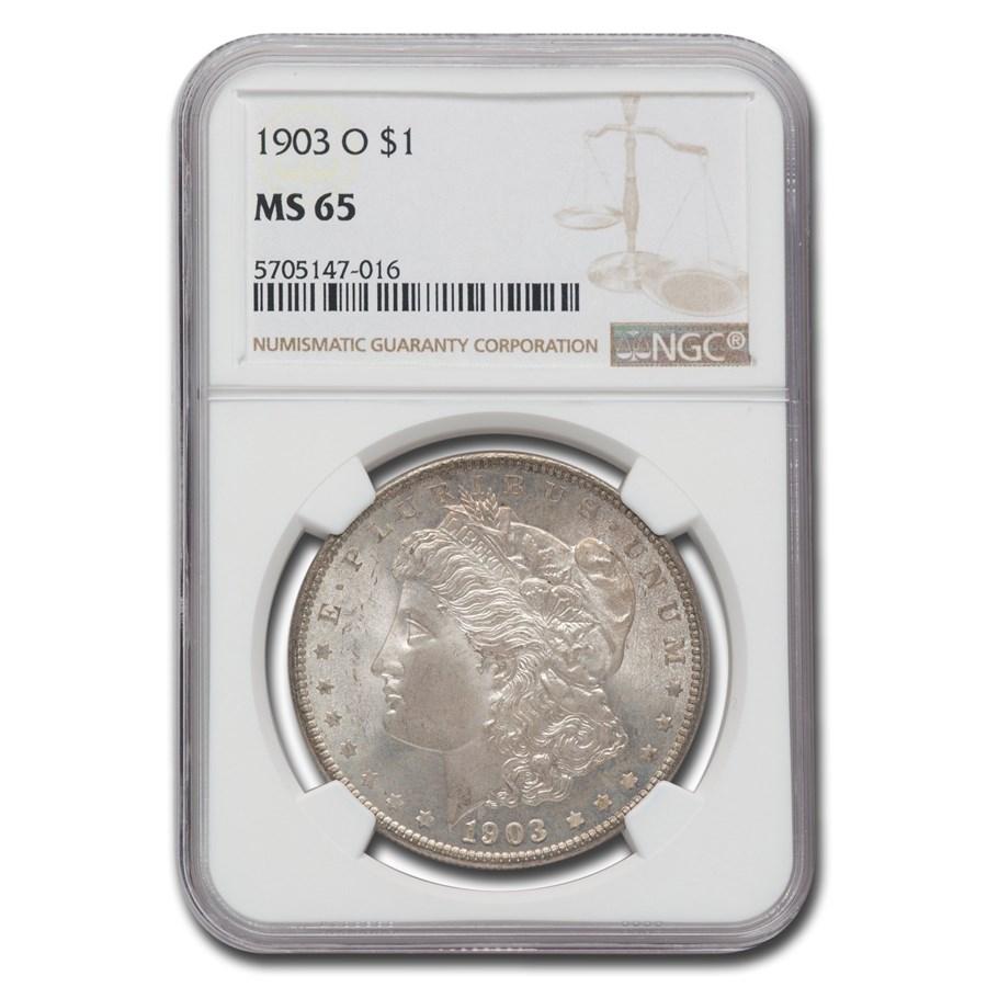 1903-O Morgan Dollar MS-65 NGC
