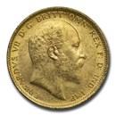 1903-S Australia Gold Sovereign Edward VI BU