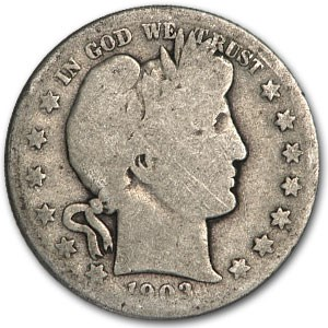 1903-S Barber Half Dollar AG