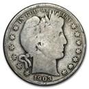 1903-S Barber Half Dollar Good
