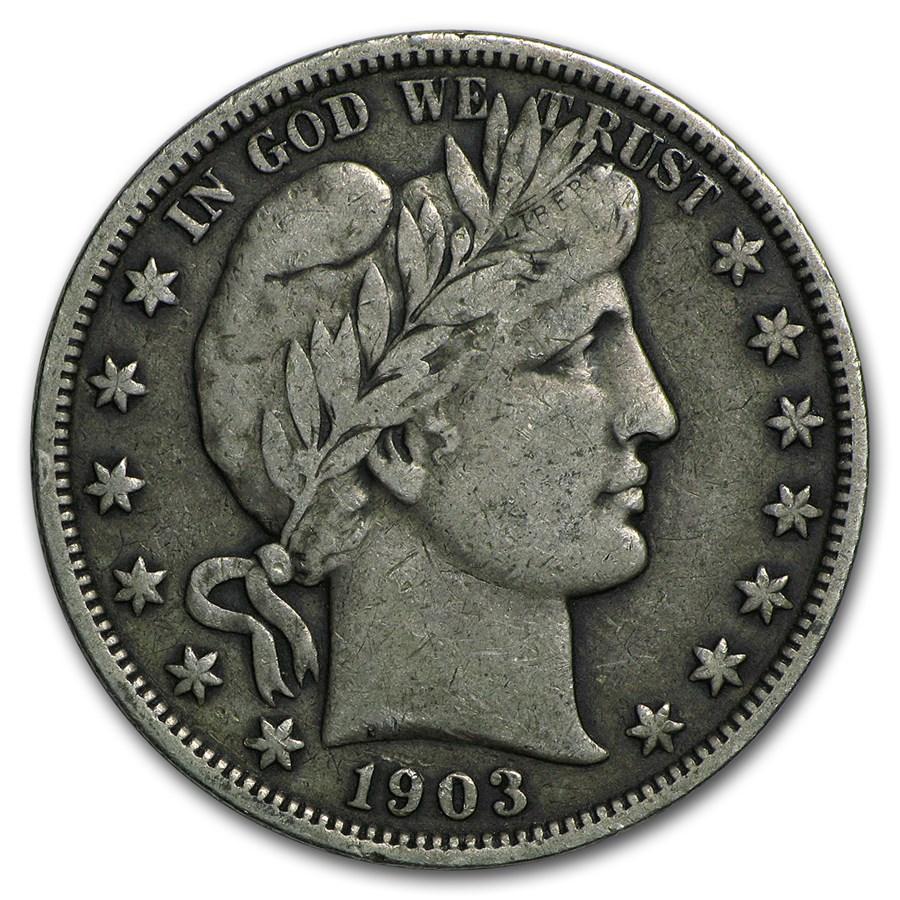 1903-S Barber Half Dollar VF