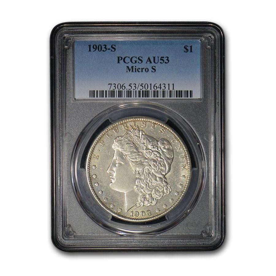 1903-S Morgan Dollar AU-53 PCGS (Micro S)