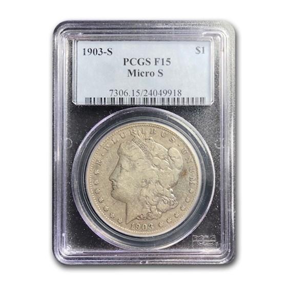 1903-S Morgan Dollar Fine-15 PCGS (Micro S)