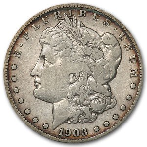 1903-S Morgan Dollar Fine Details (Cleaned)