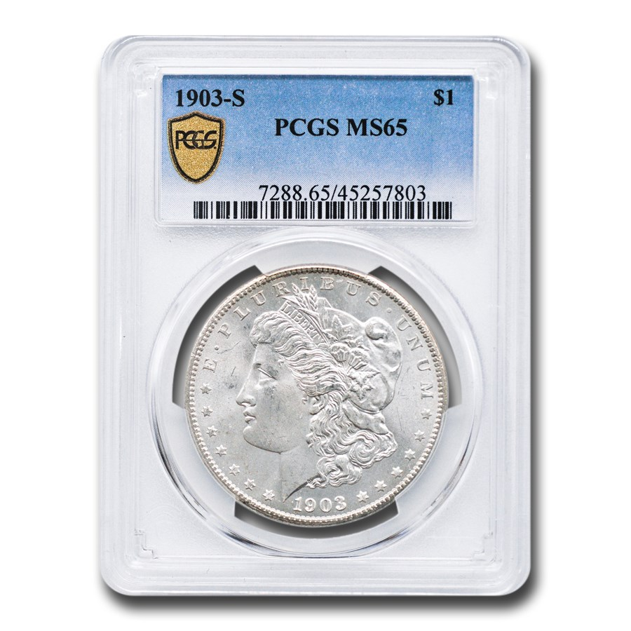 1903-S Morgan Dollar MS-65 PCGS