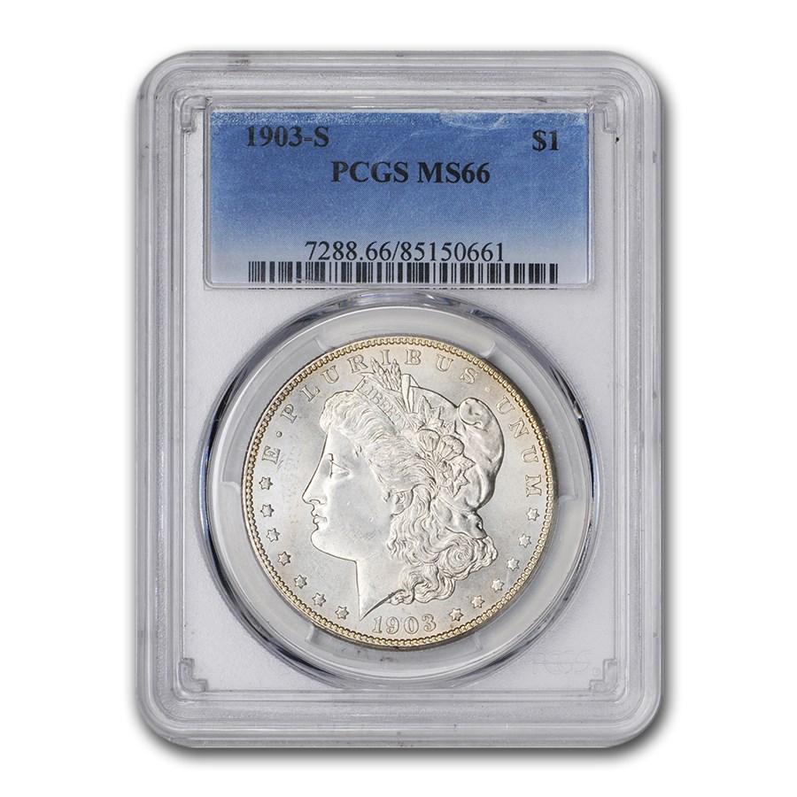 1903-S Morgan Dollar MS-66 PCGS
