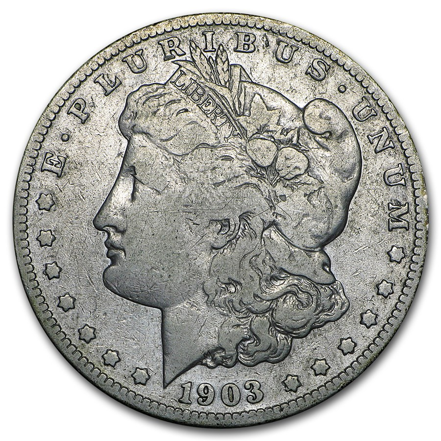 1903-S Morgan Dollar VG (Cleaned)