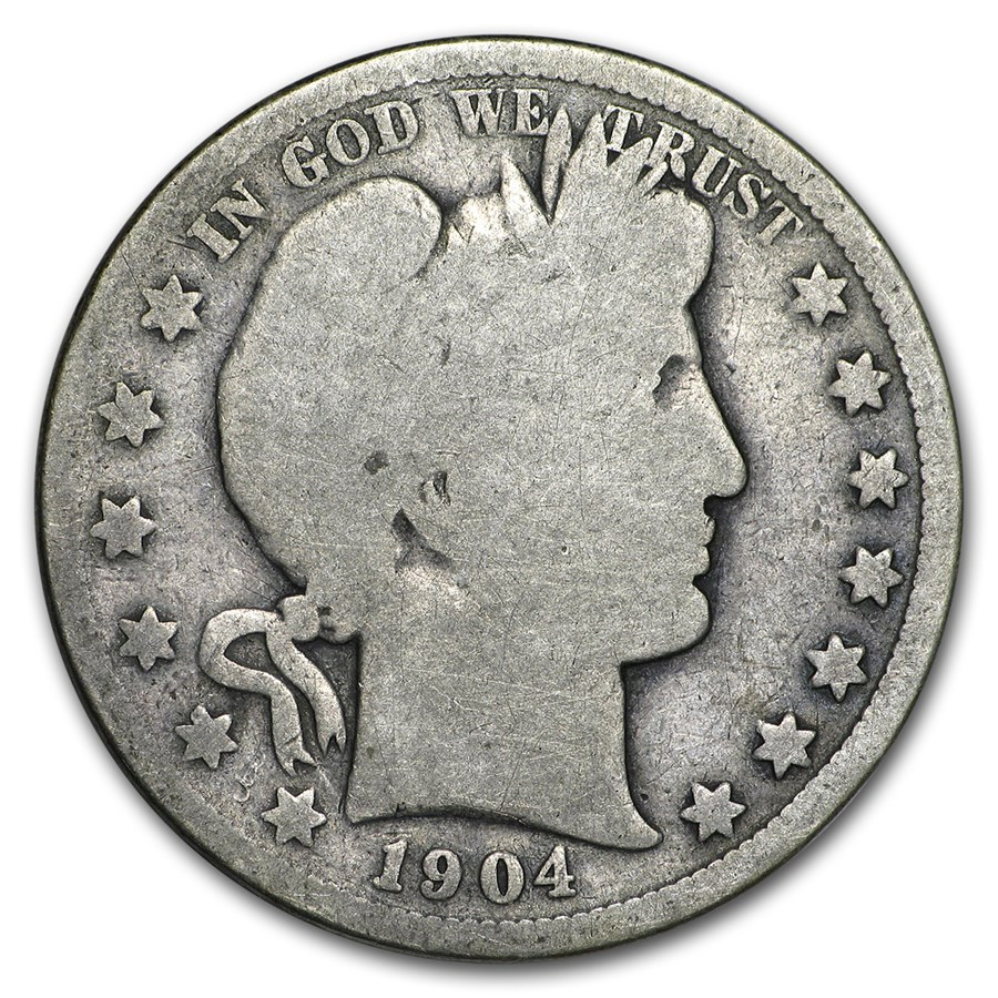 1904 Barber Half Dollar Good