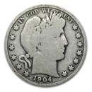 1904 Barber Half Dollar VG