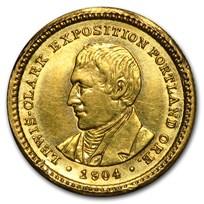 1904 Gold $1.00 Lewis & Clark AU