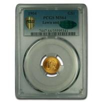 1904 Gold $1.00 Lewis & Clark MS-64 PCGS CAC