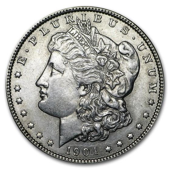 1904 Morgan Dollar AU