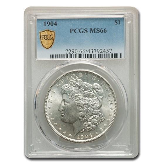 1904 Morgan Dollar MS-66 PCGS