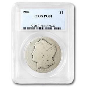 1904 Morgan Dollar Poor-1 PCGS (Low Ball Registry)