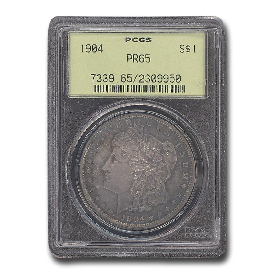 1904 Morgan Dollar PR-65 PCGS