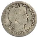 1904-O Barber Quarter AG