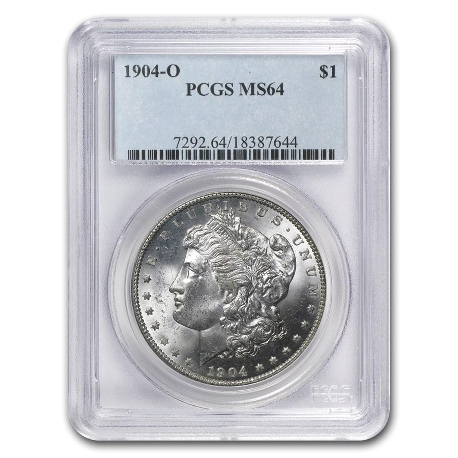 1904-O Morgan Dollar MS-64 PCGS