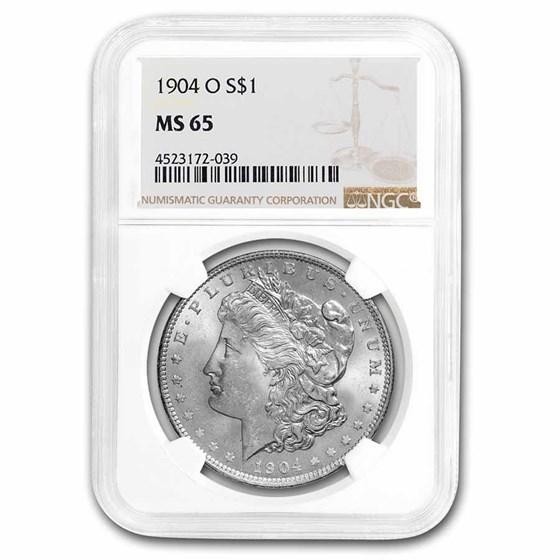 1904-O Morgan Dollar MS-65 NGC